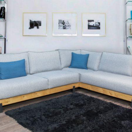 Καναπές Γωνιακός Rustica